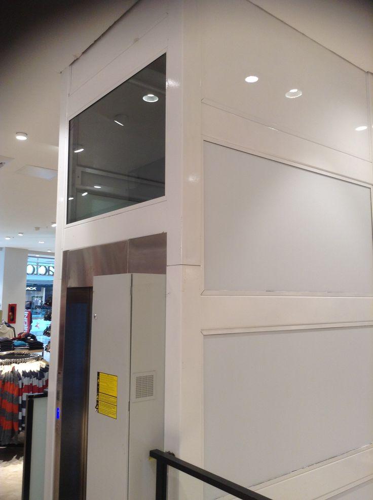 #Fethiye Defacto Mağazası Akemylift asansörü tercih etti. #AKE