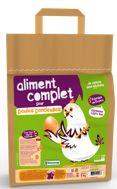 Aliment complet pour une poule pondeuse - Biocoop