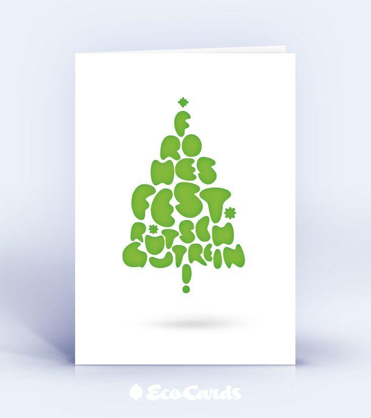 Gr ne weihnachtskarte gr n ist gr n ist gr n for Weihnachtskarten personalisiert