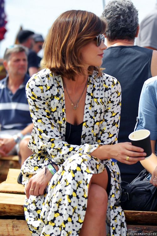 """ Jenna Coleman at Glastonbury Festival Day 4 """