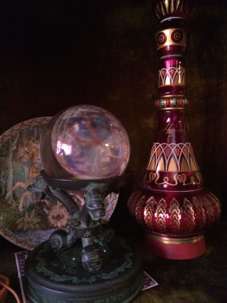Jeannie Bottle and Crystal Ball