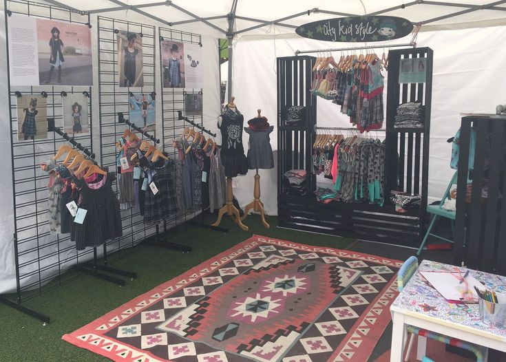 17 best images about booth display ideas on pinterest for Clothing display ideas for craft shows