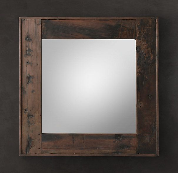 Wood Mirror Bathroom: 13 Best Recycled Mirror With New Frame Ideas Images On