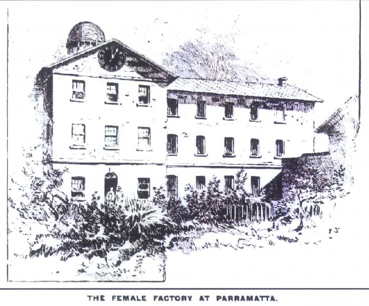 Female factory, Parramatta, Illustrated Sydney News, 3 Oct 1889