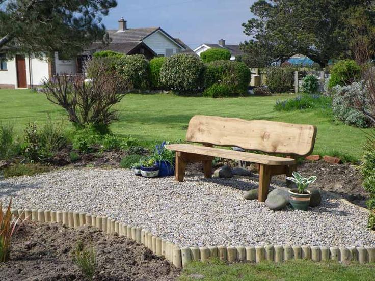 Garden Seating Area In The Garden Pinterest