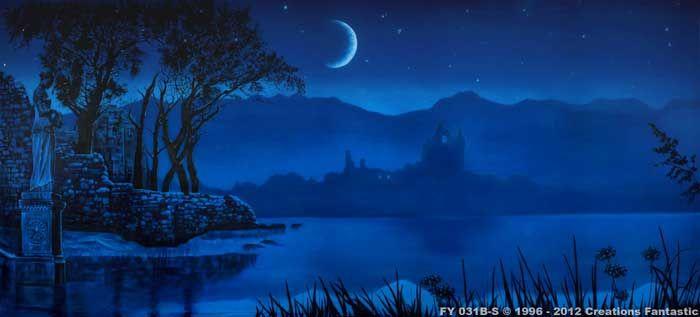 Backdrop FY 031B-S Midnight Lake B