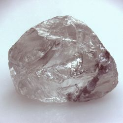 Russian diamond miner Alrosa found a 158 carat diamond that can be seen from space. #diamond #space #Alrosa