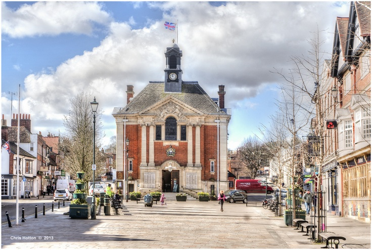 Henley Town Hall and Market Place