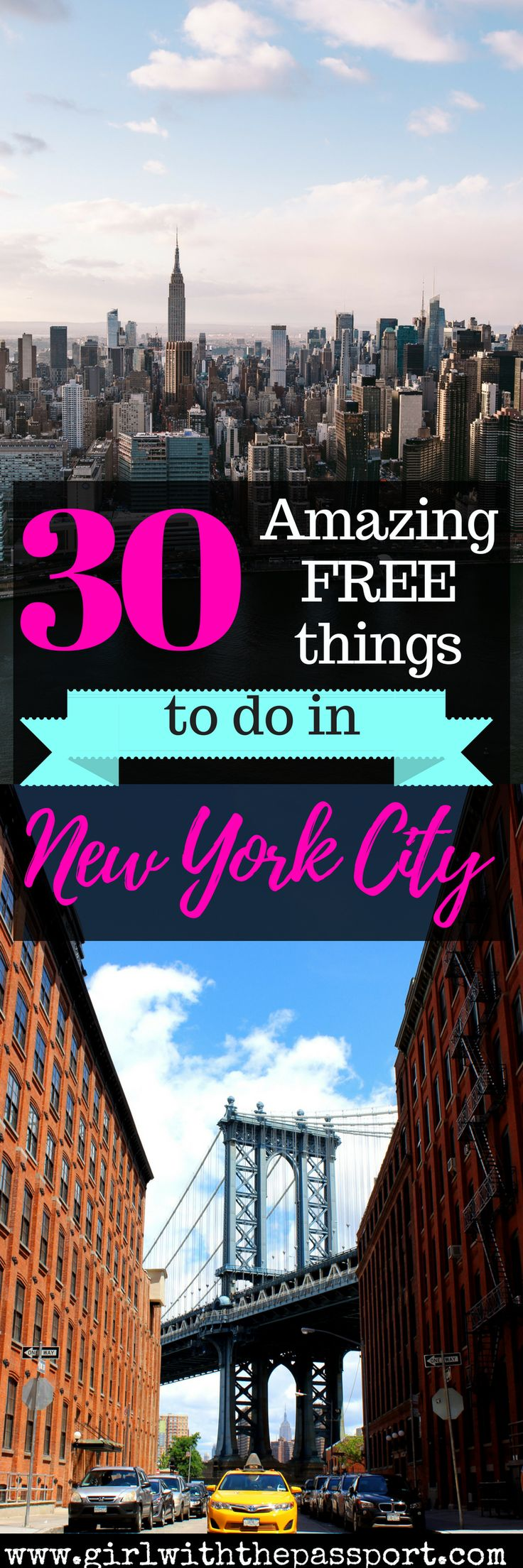 A local's guide to the most amazing things to do in #newyorkcity #travel #wanderlust #budget #unitedstates