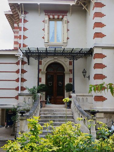 Villa art nouveau, Ville d'Hiver, Arcachon, Gironde, Aquitaine, France. | Flickr - Photo Sharing!