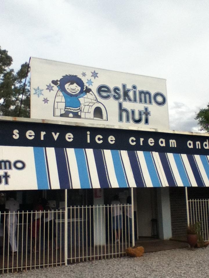 Eskimos Hut, Bulawayo. Photo by Des Stella Goldhawk 26/12/2012. My Dad worked there