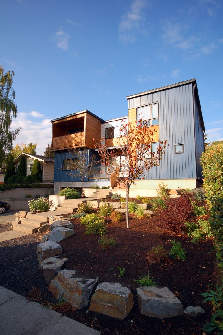 Hive Architecture | X-Line 014 | Calgary, AB | modern exterior. Prefab  HomesModern ...