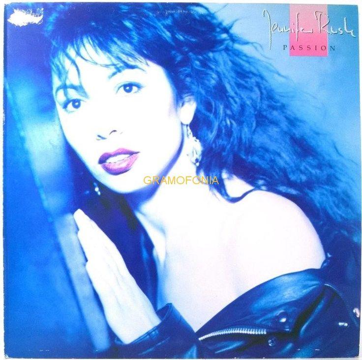 Jennifer Rush Passion Rush Albums Vinyl Jennifer