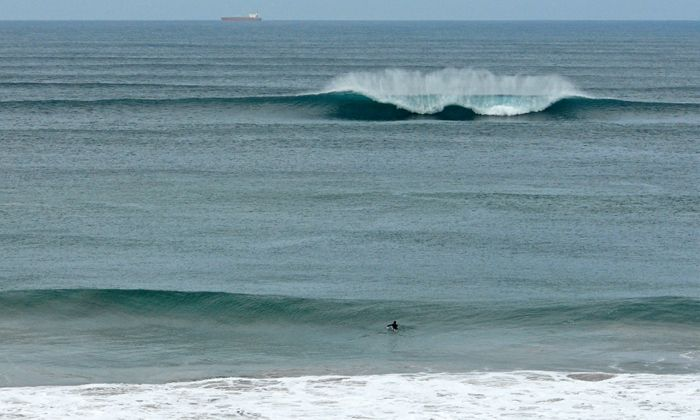 LINE-UP OF THE DAY: That's A Paddlin, Surf Coast Victoria This Weekend. Photo by Judy Scanlon