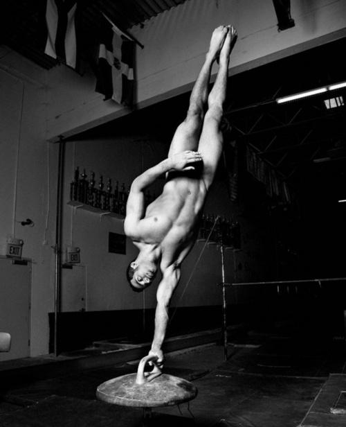 Daniel Leyva, Men's Olympic Gymnast. Looking mighty fine.