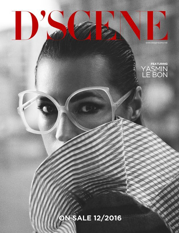The new edition of our biannual print and digital D'SCENE Magazine is around the corner and we are excited to present the first taste of the upcoming issue with legendary supermodel YASMIN LE BON on our first teaser cover.