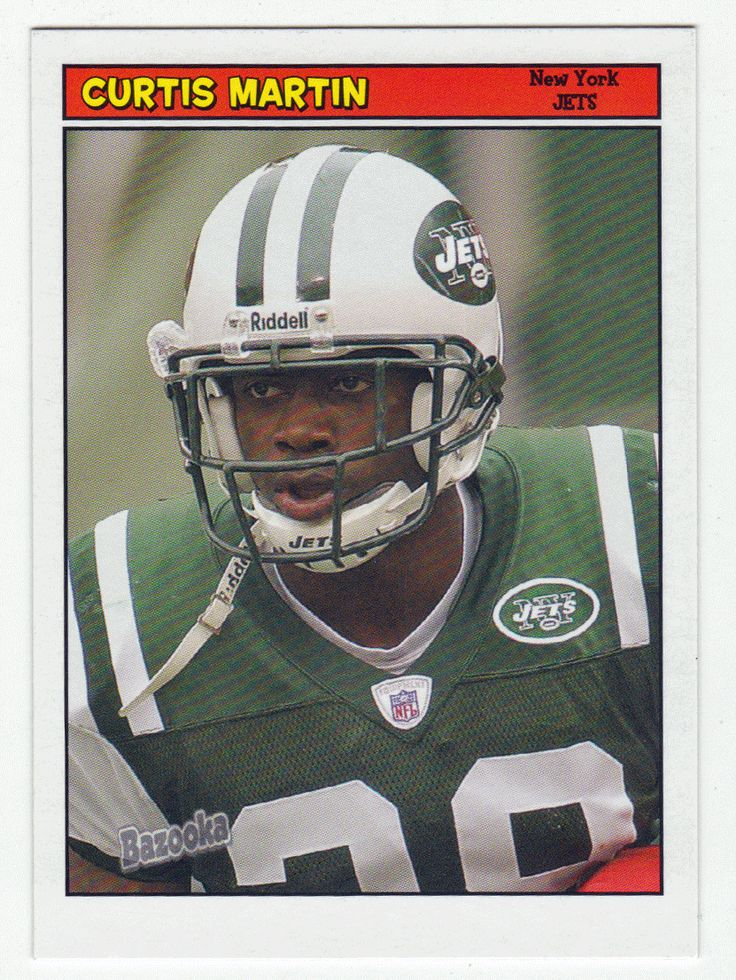 Curtis Martin # 28 - 2005 Topps Baz Football