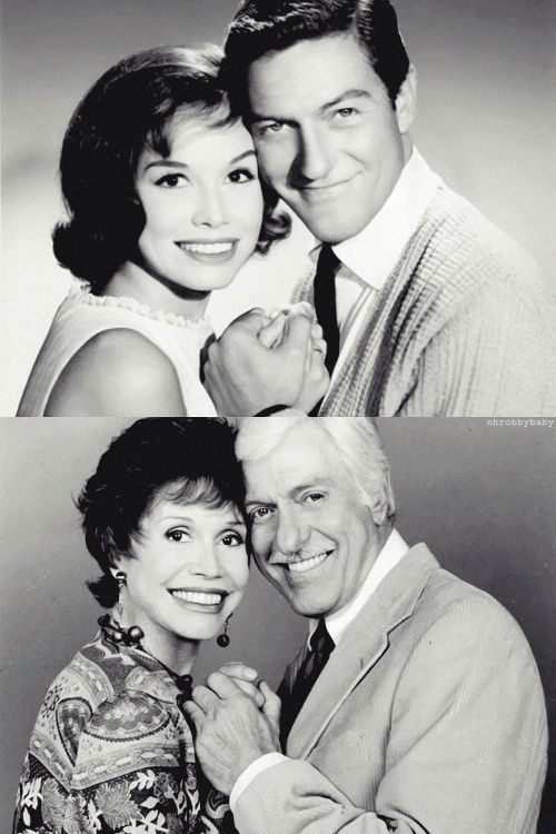 Dick Van Dyke and Mary Tyler Moore played a married couple so convincingly on The Dick Van Dyke Show that many viewers actually thought the...
