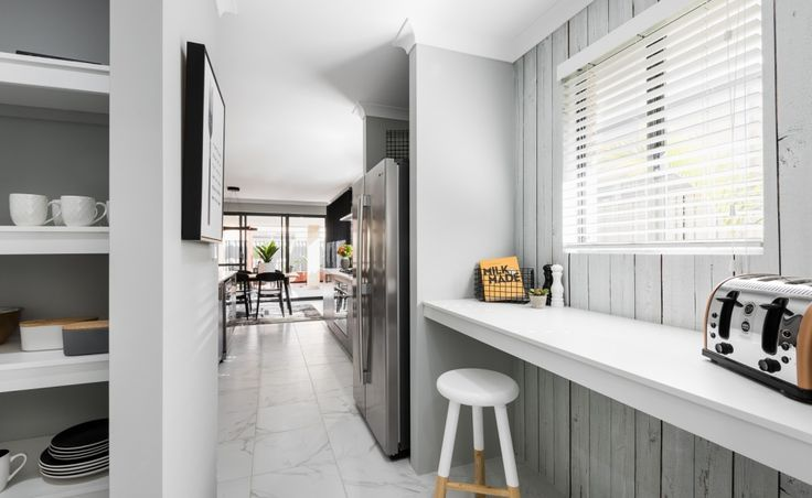 The scullery and walk-in pantry will delight families and the keen chef