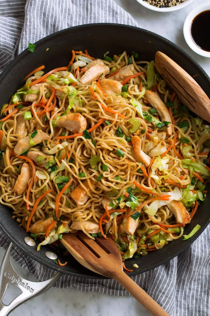 This Chow Mein Recipe is just like what you get at your ...