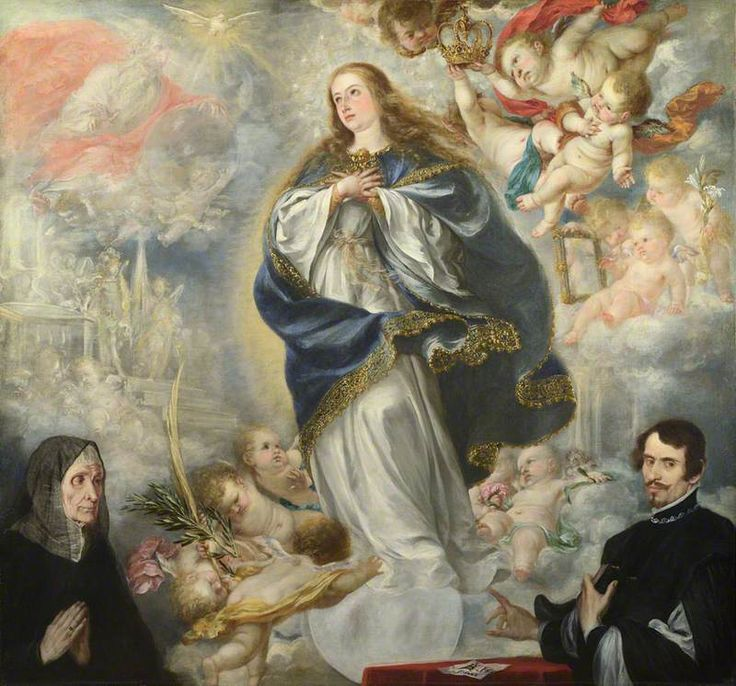 The Immaculate Conception of the Virgin, with Two Donors