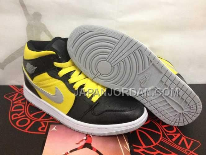 Air Jordan Shoes Air Jordan 1 Navy Blue Yellow White [Air Jordan 1 - Here  comes the Air Jordan 1 shoes for you. Featuring a combination of navy blue  and ...