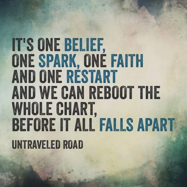 Untraveled Road // Thousand Foot Krutch- from their new album Oxygen: Inhale