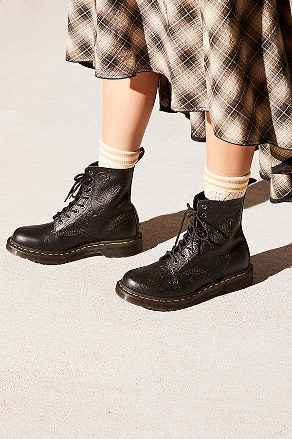 Dr. Martens 1460 Pascal Floral Embossed