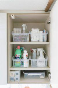 100均の「プラカゴ」がキッチン収納の悩みを解決!複数使いで効果アップも