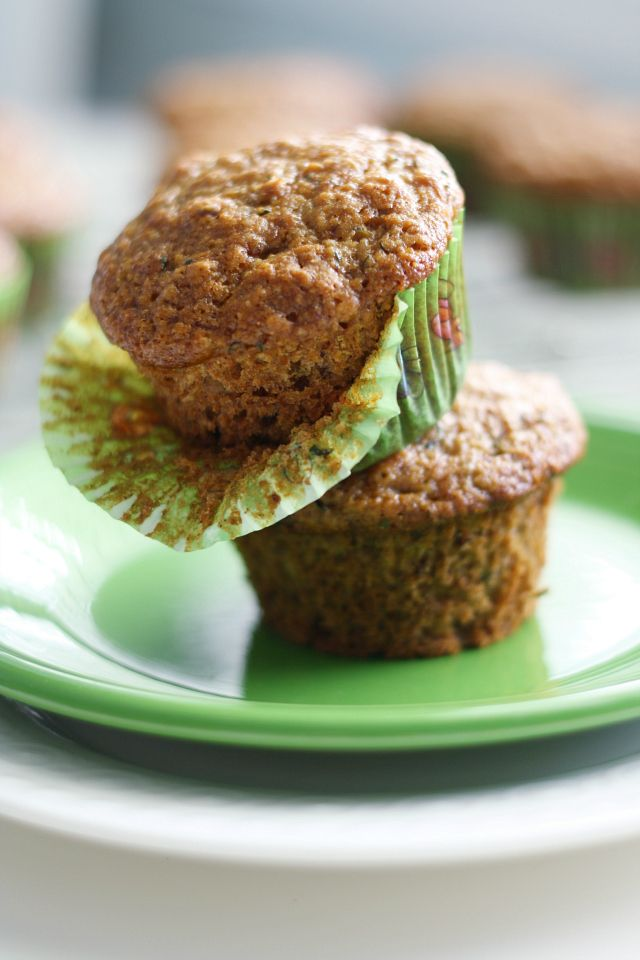 Make these tasty zucchini muffins for your next brunch! Moist and flavorful, and vegan, too!