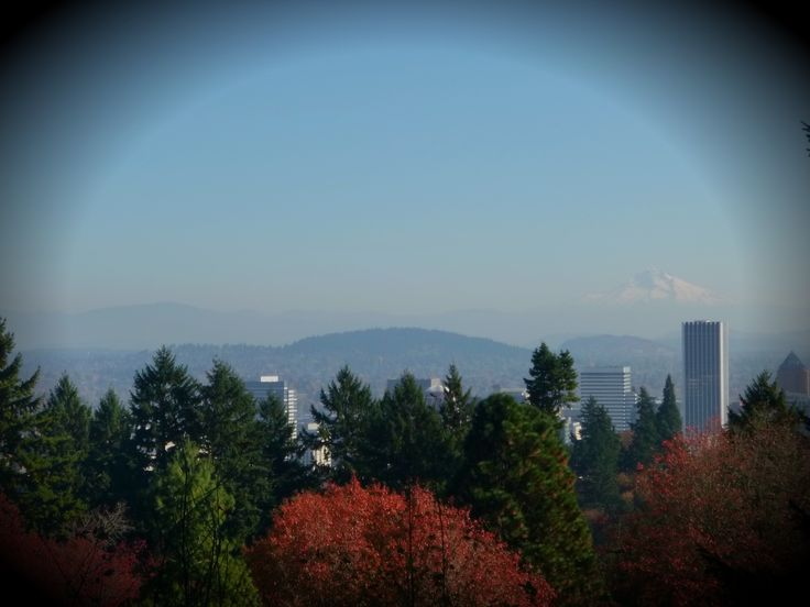 Portland Japanese Gardens, Oregon