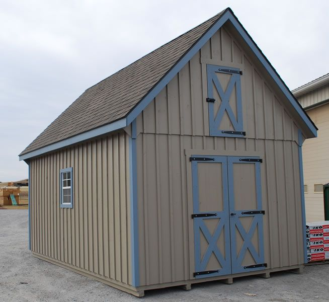 1000 images about shed on pinterest storage shed plans for Board and batten shed plans