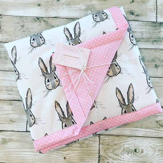 Keep your little ones warm with one of our handmade blankets. Quilted and backed with a super soft dimpled plush fabric or a mini spot cotton. They measure a generous 75x90cm approx or 100x120cm size approx and make ideal cot blankets, pram blankets, playmats or even car seat