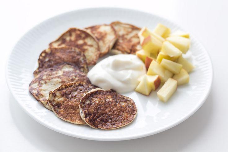 Bananpandekager er blevet meget populære. De er sunde og samtidig super lækre. Her får du en opskrift, som er nem at lave. Den kræver kun 2 ingredienser!