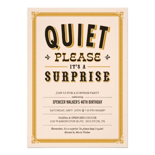 41 best 40th Birthday Party Invitations images on Pinterest