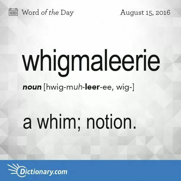 Whigmaleerie