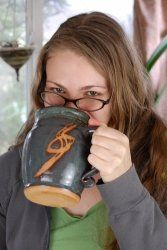 oversized coffee mug, large pottery mugs