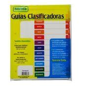 Guía Clasificadora Blanca Ene-Dic Carta Norma x20
