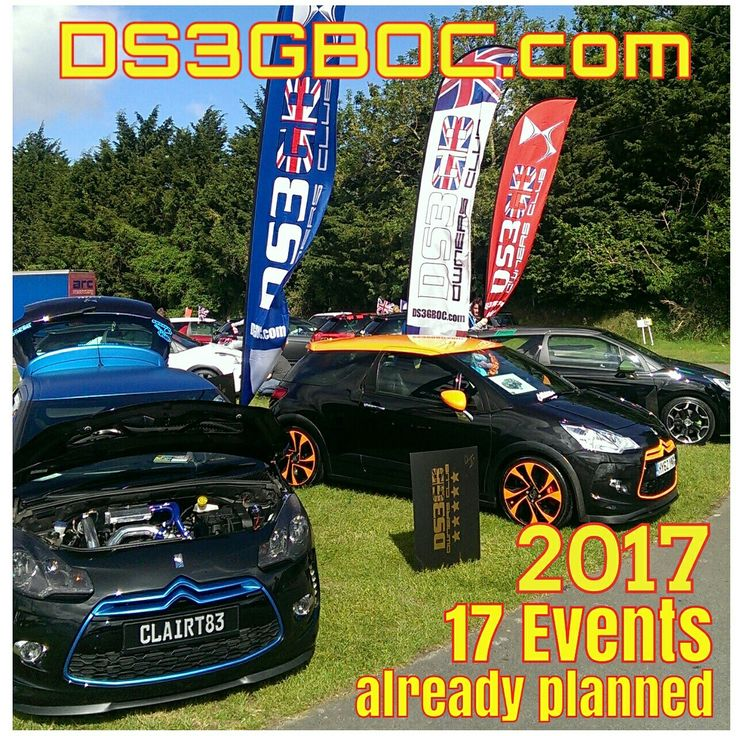 Loads of events this year. Check us out on most social media or direct on the website www.ds3gboc.com