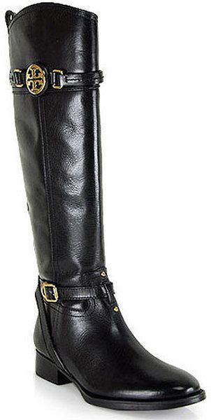 T B Calista Leather Riding Boot - Lyst