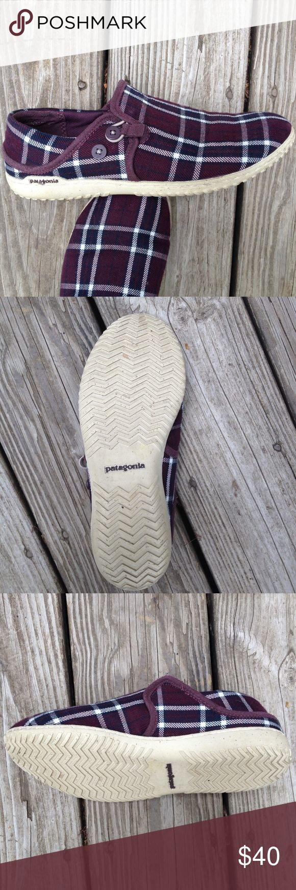 Patagonia // slip on shoes Great condition Patagonia slip ons. Size 7, super comfortable! Patagonia Shoes
