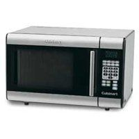 """Cuisinart 1000 Watt Stainless Steel Counter Top Microwave Oven by DBL DISTRIBUTING. $179.00. MICROWAVE OVEN. Stainless steel control panel and door with dark tinted glass window and chrome handle.. Two-stage cooking operation. Includes recipe book.. Color : Stainless Steel. Dimensions: 20.48"""" x 17.45"""" x 13.19"""". Cuisinart 1000 Watt Stainless Steel Counter Top Microwave Oven. A stainless steel interior and 25 pre-programmed settings put the Cuisinart 1000 Watt Stainless Steel..."""