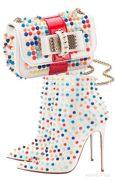 Christian Louboutin. There's something so fresh about this look! Summer in Seattle, maybe...