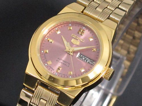 SEIKO 5 Automatic watch SYM754J1 Ladies MADE IN JAPAN -- Click image for more details.