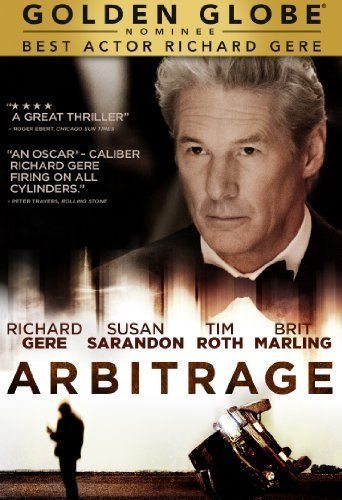 Arbitrage DVD ~ Richard Gere  Little Black Book #RomancingtheJoan