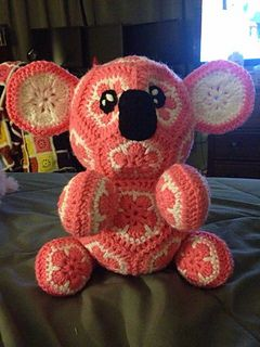 African Flower Koala Bear by Holly Osterbrink $5.00