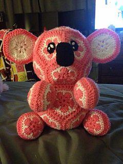African Flower Koala Bear byHolly Osterbrink $5.00