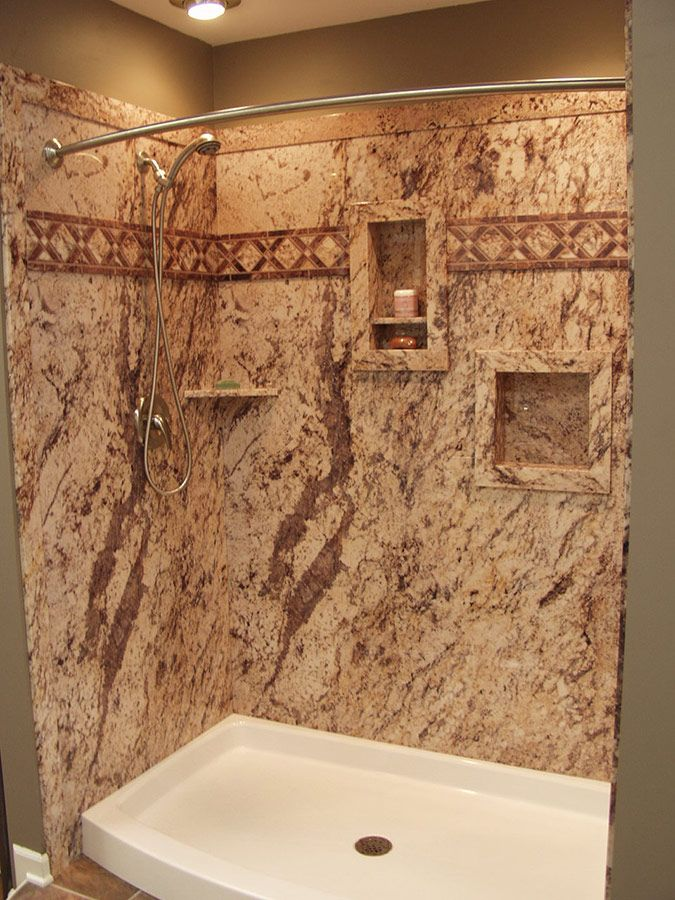 Recommendations For Grout Free Bath Walls Choice PVC Backed Composite Faux Stone