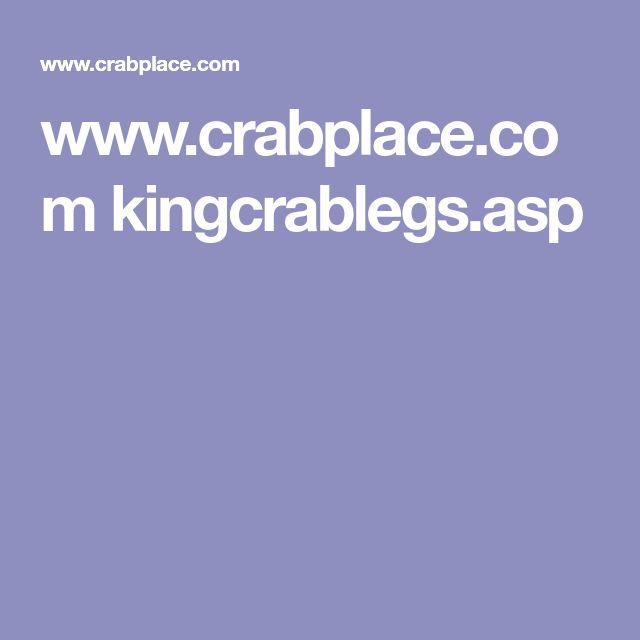 www.crabplace.com kingcrablegs.asp