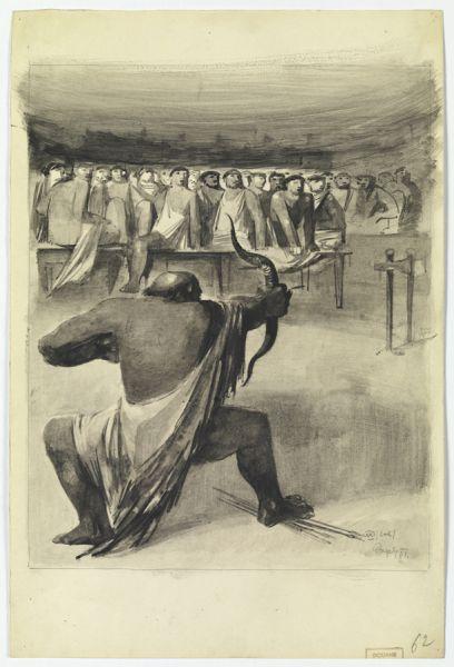 Odysseus Shooting with the Bow byMarij Pregelj